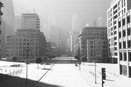 Corona abandoned city